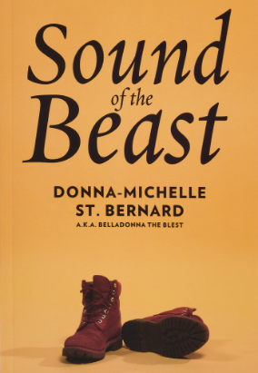Book cover for Sound of the Beast by Donna-Michelle St. Bernard