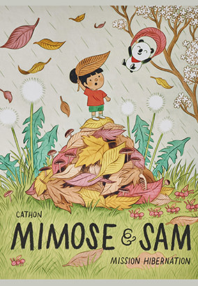 Book cover for Mimose & Sam : Mission hibernation by Cathon