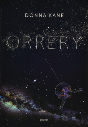 Book cover for Orrery by Donna Kane