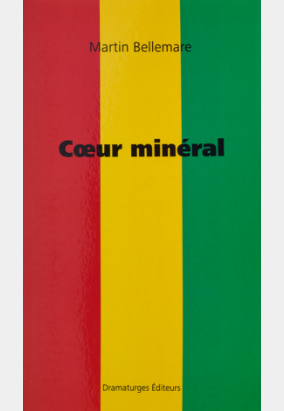 Book cover for Cœur minéral by Martin Bellemare