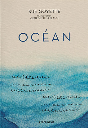 Book cover for Océan, translated by Georgette LeBlanc