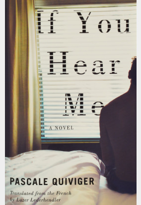 Book cover for If You Hear Me, translated by Lazer Lederhendler
