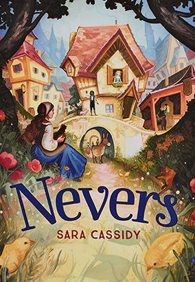 Book cover for Nevers by Sara Cassidy