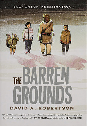 Book cover for The Barren Grounds by David A. Robertson