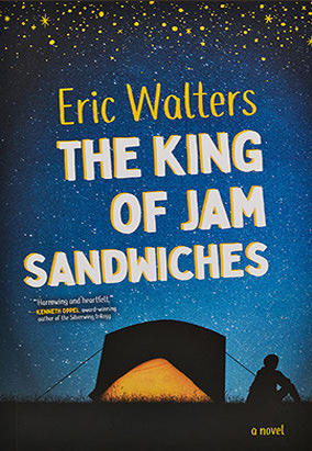 Book cover for The King of Jam Sandwiches by Eric Walters